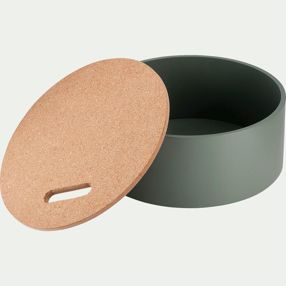 Boîte de rangement décorative - vert-Corko