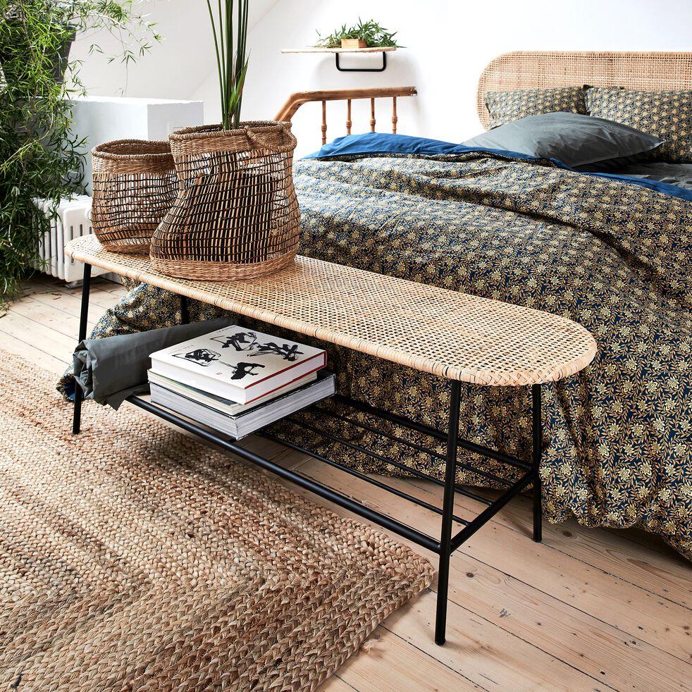 Bout de lit en rotin l140cm-TEISSE