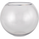 Vase boule transparent D24,5cm-CERS