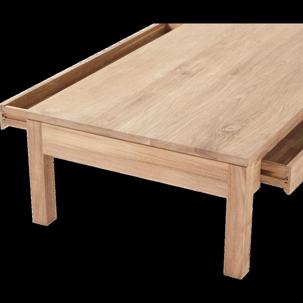 Table basse en teck recyclé 80x150cm-EMOTION