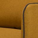 Canapé d'angle gauche jaune nèfle-SAOU