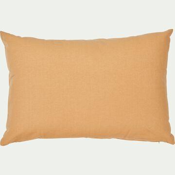Coussin en coton - beige nèfle 40x60cm-CALANQUES