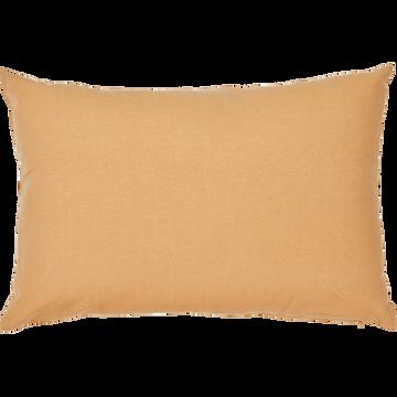 Coussin en coton beige nèfle 40x60cm-CALANQUES