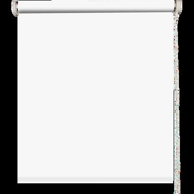 Store enrouleur uni tamisant blanc 150x190cm-TAMISANT