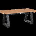 Table de repas rectangulaire piétement luge - 10 places-FANTINE