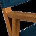 Chaise de casting enfant bleu figuerolles-LUZ