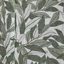 Rideau à oeillets vert imprimé feuilles de laurier 140x250cm-LAURIER