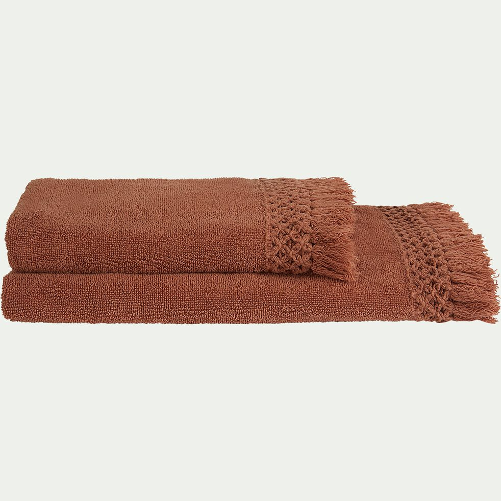 Linge de toilette marron-BAHA