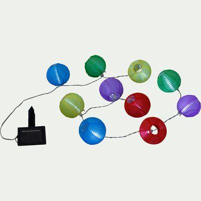 Guirlande solaire à 16 lampions L3m-New party