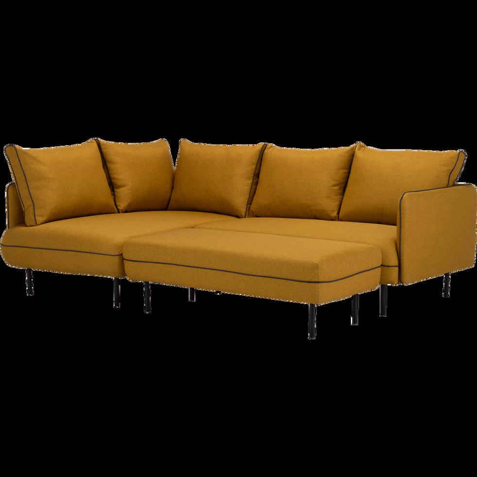 canap d 39 angle gauche jaune n fle saou canap s d 39 angle. Black Bedroom Furniture Sets. Home Design Ideas