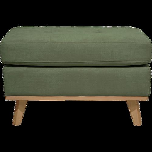 pouf en tissu jaune picabia poufs et repose pieds alinea. Black Bedroom Furniture Sets. Home Design Ideas