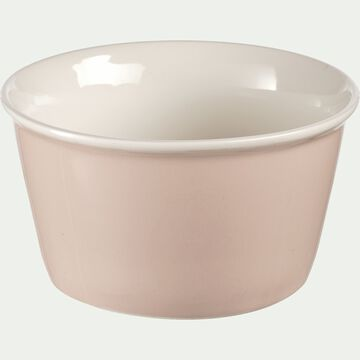Coupelle en porcelaine rose grège D12cm-CAFI