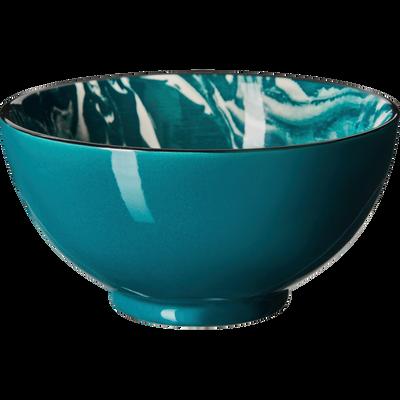 Coupelle en porcelaine bleue D11cm-FLORENTI