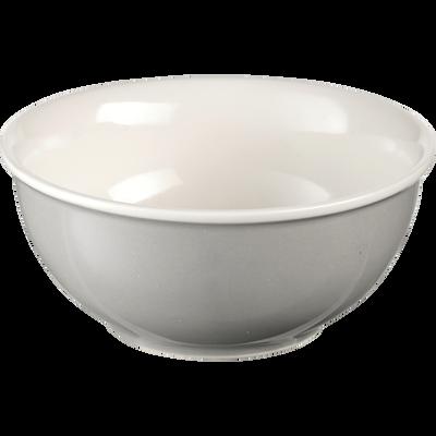 Bol en porcelaine gris borie D12cm-CAFI