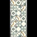 Tapis de cuisine carreaux de ciment 50x120cm en vinyle-VISTACIMEN1