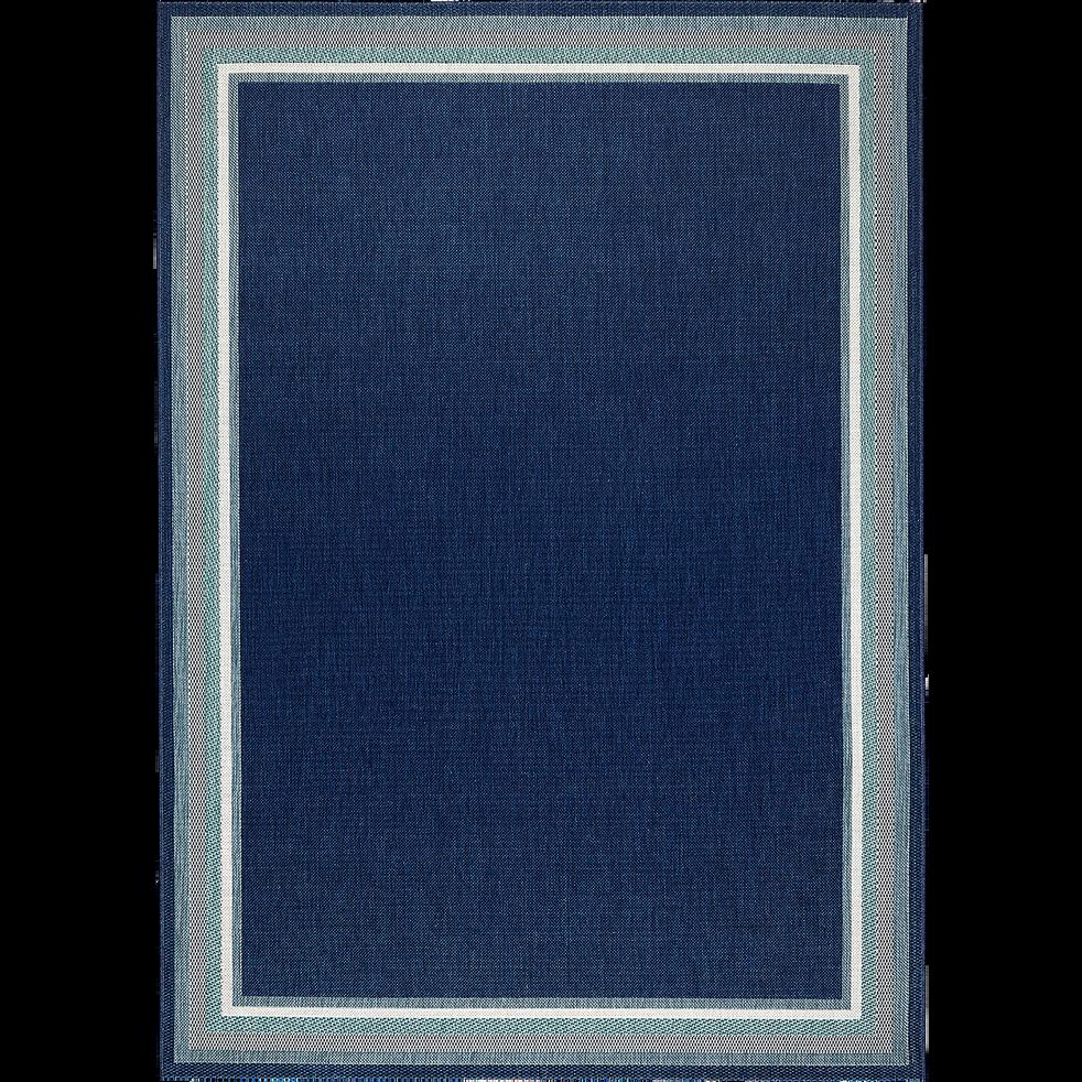 Tapis bleu marine 160x230cm-POOL