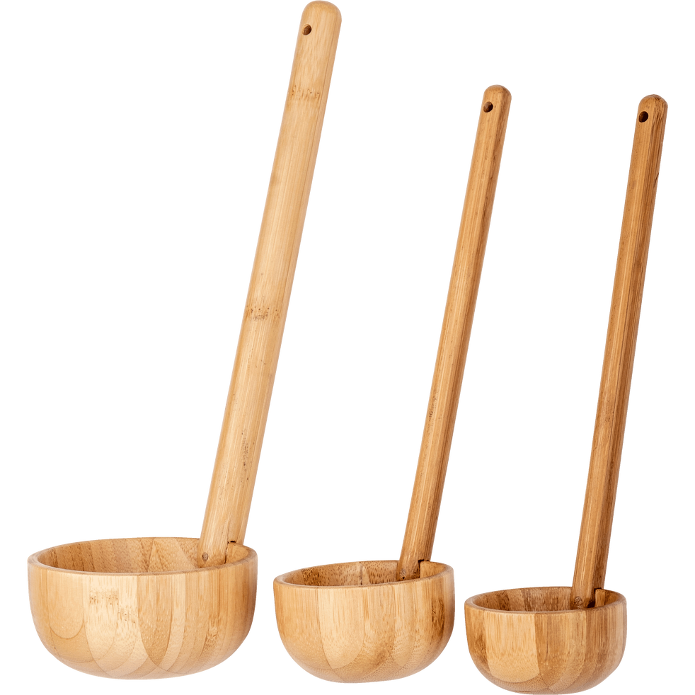 Louche en bambou D6 cm-CASSU