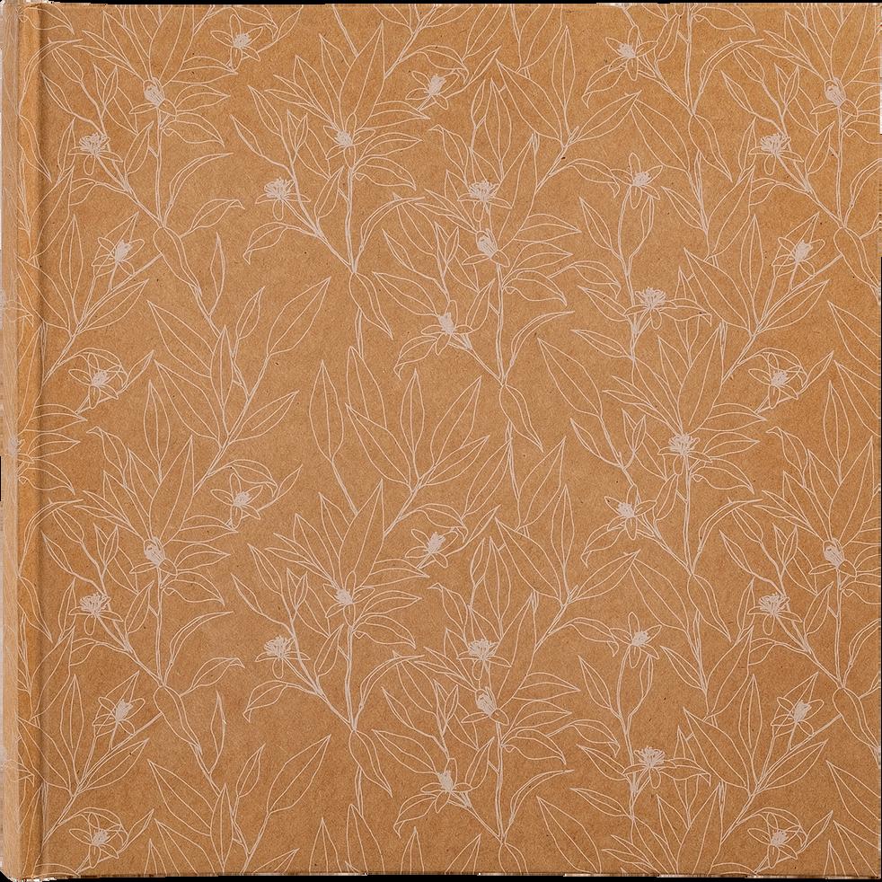 Album photo à motif floral 25x25cm-FLEUR D ORANGER