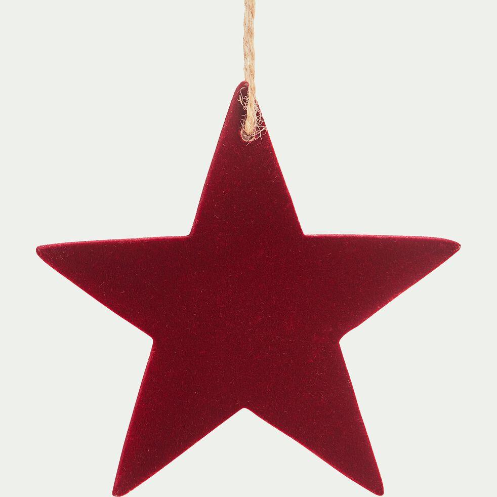 Boule de Noël étoile D10cm-GARIN