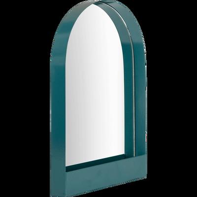 Miroir décoratif en métal bleu niolon-GYALY
