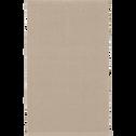 Descente de lit en coton beige roucas-CAMELIA