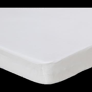 Protège-matelas en microfibres 140x200cm bonnet 30cm-Soak