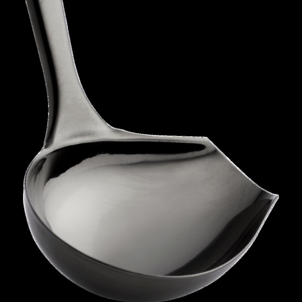 Louche à sauce en inox noir-MASCARA