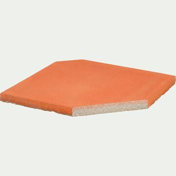 Dalle pour parasol déporté 19,5kg orange-VADA