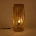 Lampe à poser en zostère H74xD31cm-Hudson
