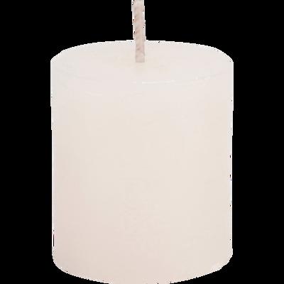 Bougie votive coloris beige roucas H4,5cm-BEJAIA