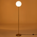 Lampadaire en laiton doré H153cm-MARIA