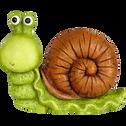 Escargot décoratif d'extérieur en résine H29cm-ESCARGOT