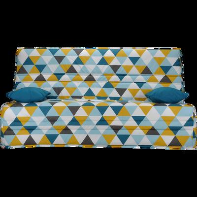 Housse pour clic-clac 130cm motif triangles-SCANDI