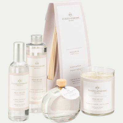 Bougie parfumée Rêve de Lin 180g-RÊVE DE LIN