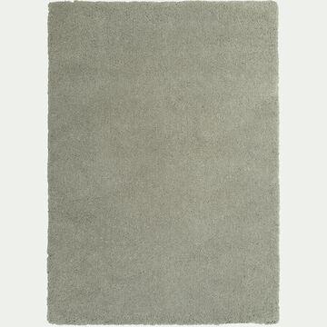 Tapis shaggy - vert olivier 120x170cm-CELAN