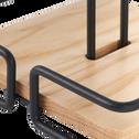 Support papier absorbant en métal et bois-LAUTIN