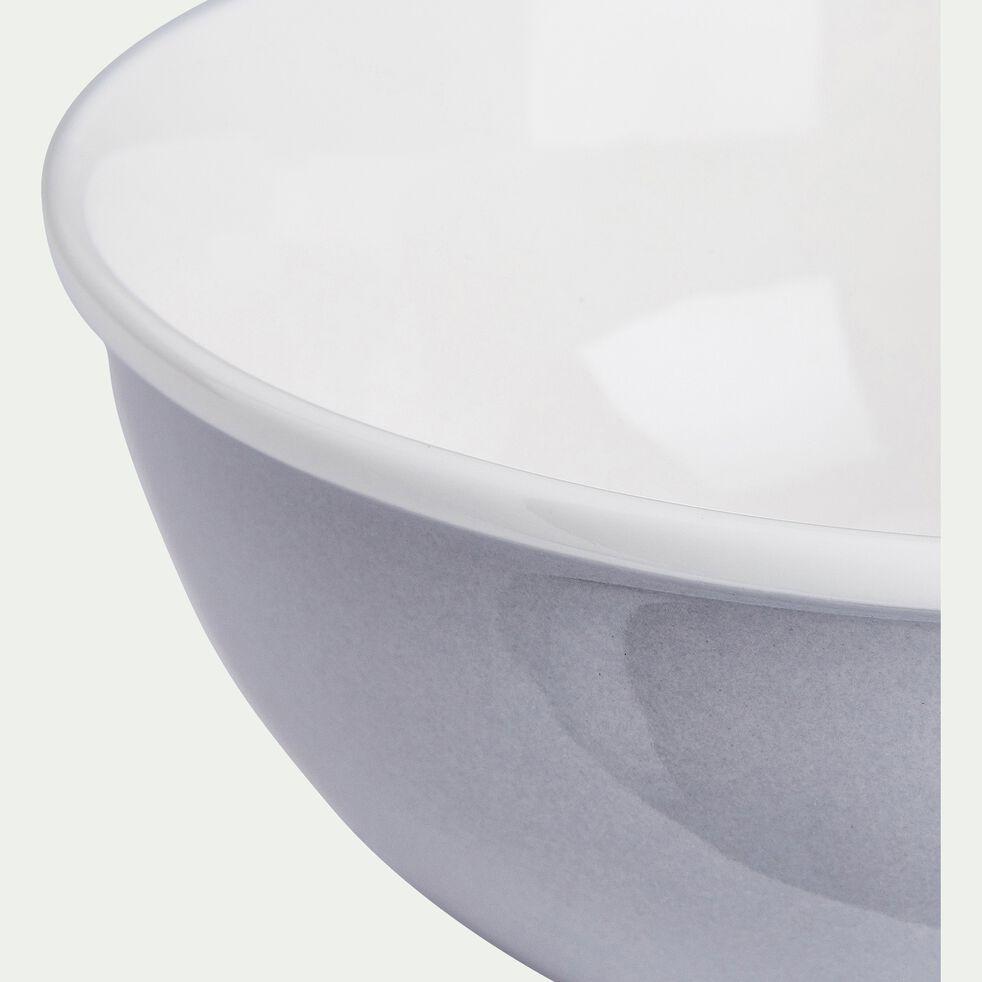 Bol en porcelaine - gris borie D16cm 75cl-CAFI