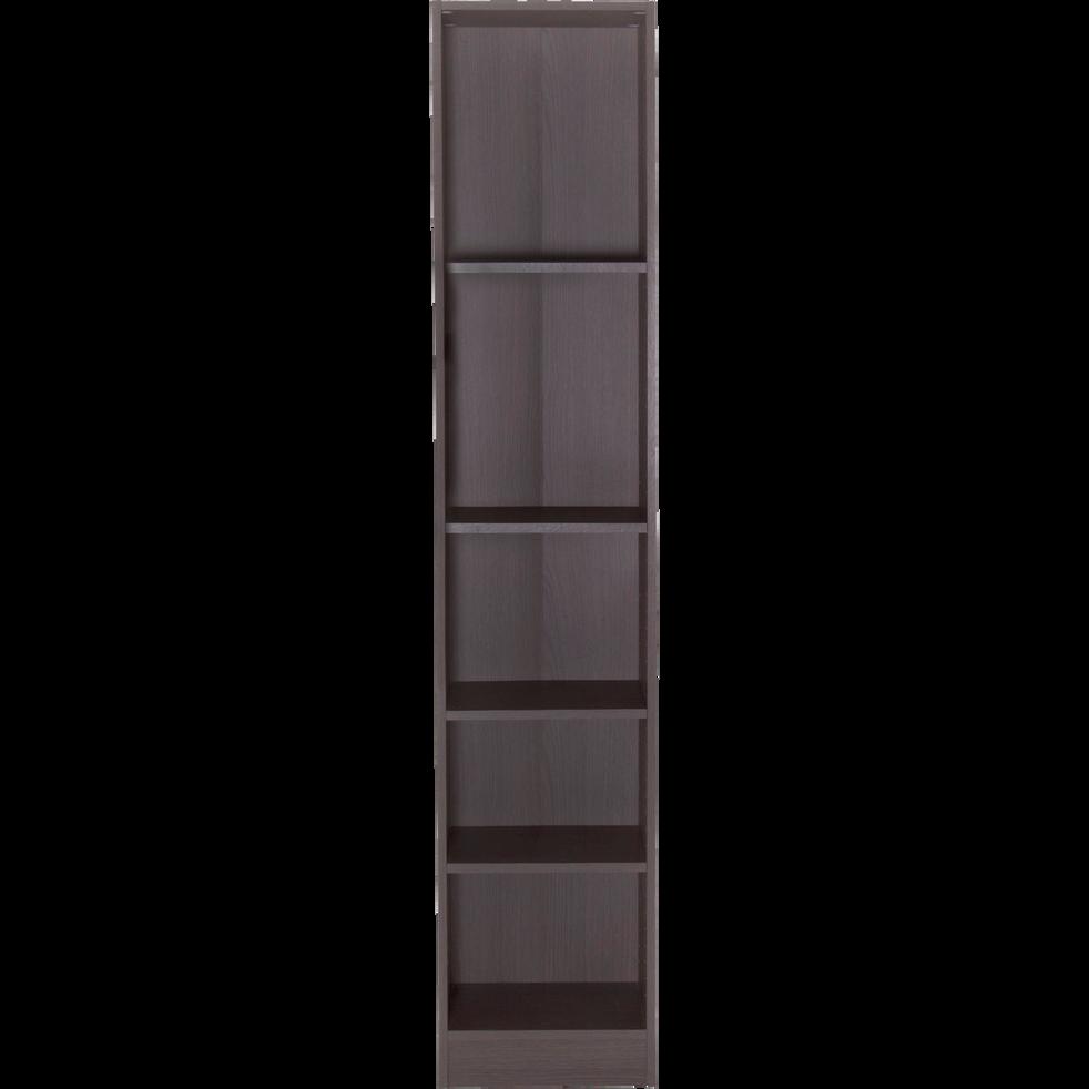 grande biblioth que 5 tablettes coloris ch ne gris l40cm biala rangements composer alinea. Black Bedroom Furniture Sets. Home Design Ideas