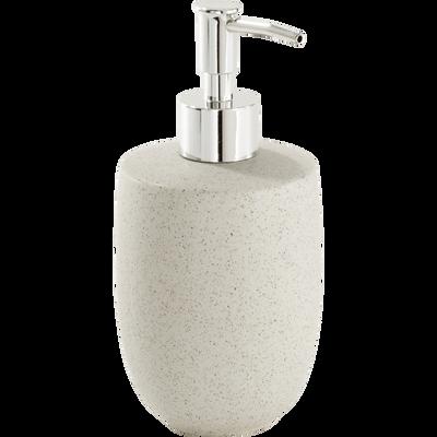 Distributeur de savon en céramique effet moucheté-ERIS
