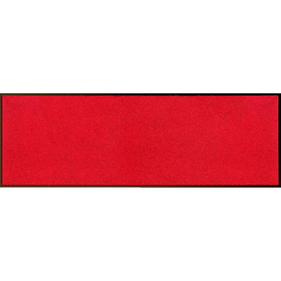 Tapis de couloir paillasson rouge 60x180cm-BEN