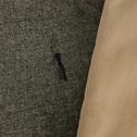 Édredon en polycoton gris 100x180cm-CORBIN