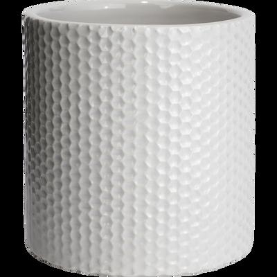 Pot à coton blanc ventoux-Ghibo