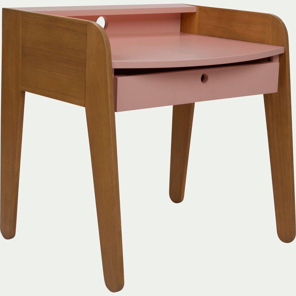 Bureau pour enfant en acacia - rose-Raphaël