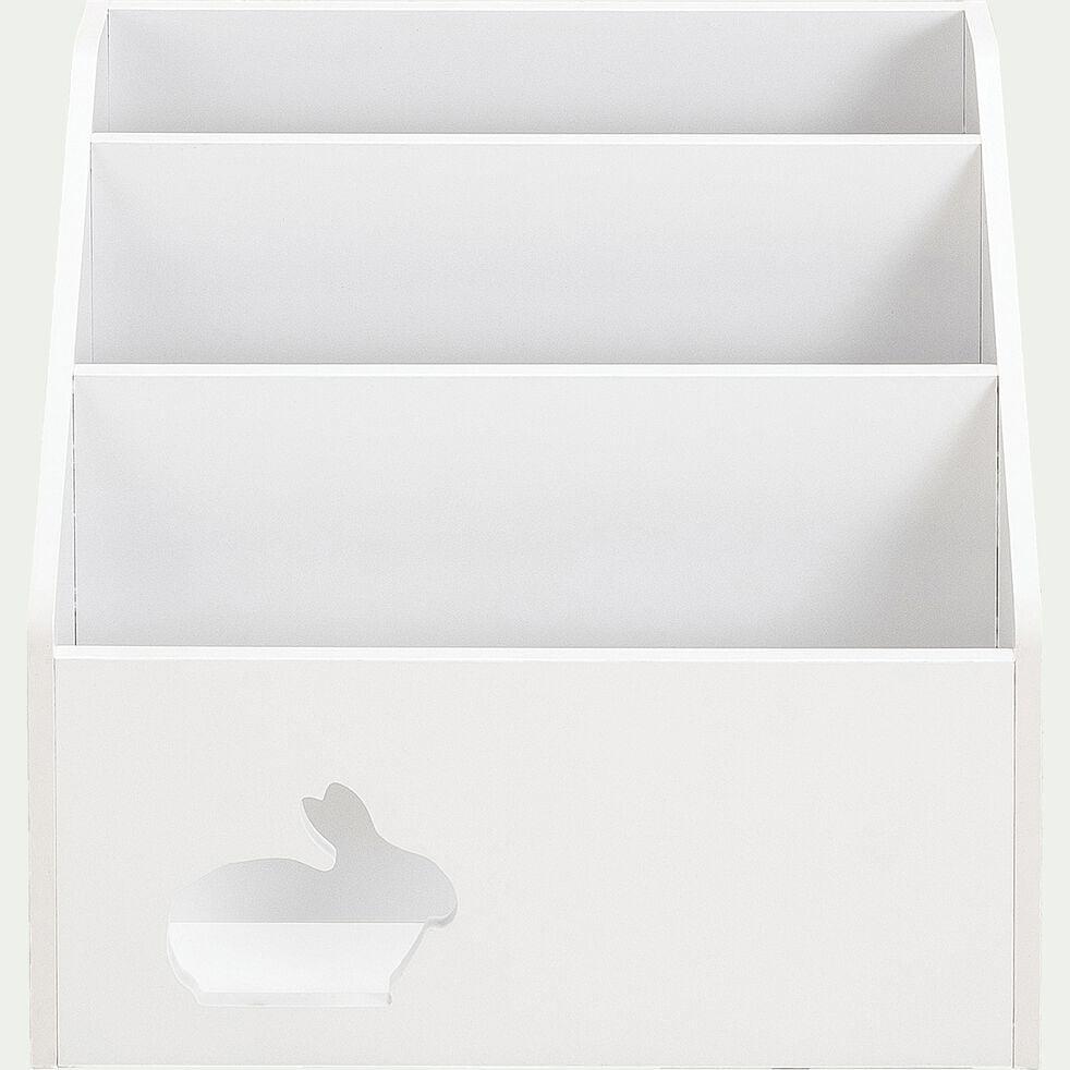 Range-livres pour chambre enfant - blanc-Dico