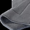 Tapis de bain en coton 50x80cm gris restanque-AZUR