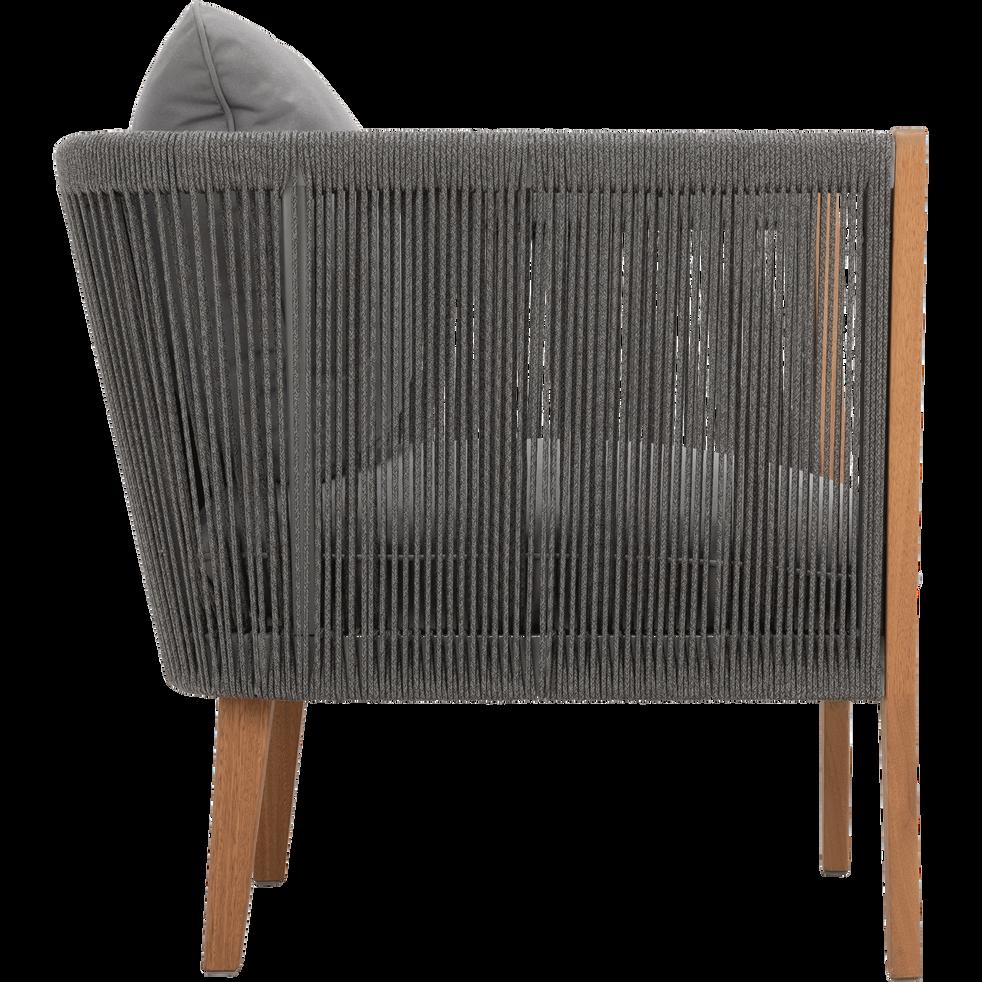 Fauteuil de jardin en eucalyptus gris bellone fauteuils de jardin alinea - Alinea fauteuil jardin ...