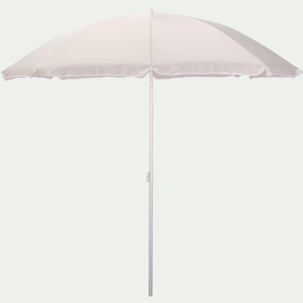Parasol de plage - beige roucas (D180cm)-GASSIN
