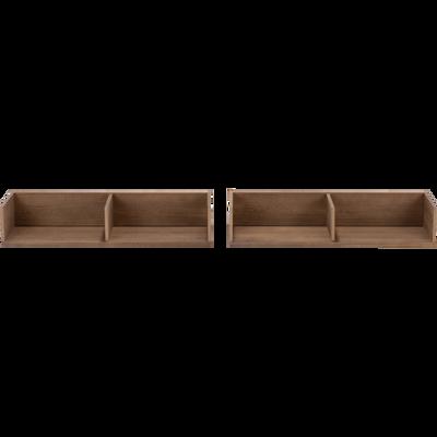 Niches de rangement en pin pour lit Cruz-CRUZ