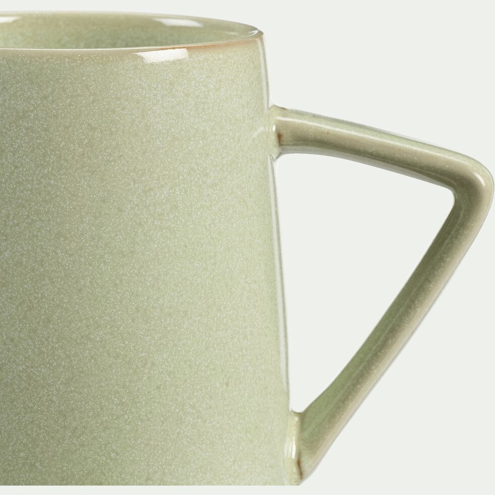 Mug en grès - vert - 40cl-ESQUIROU