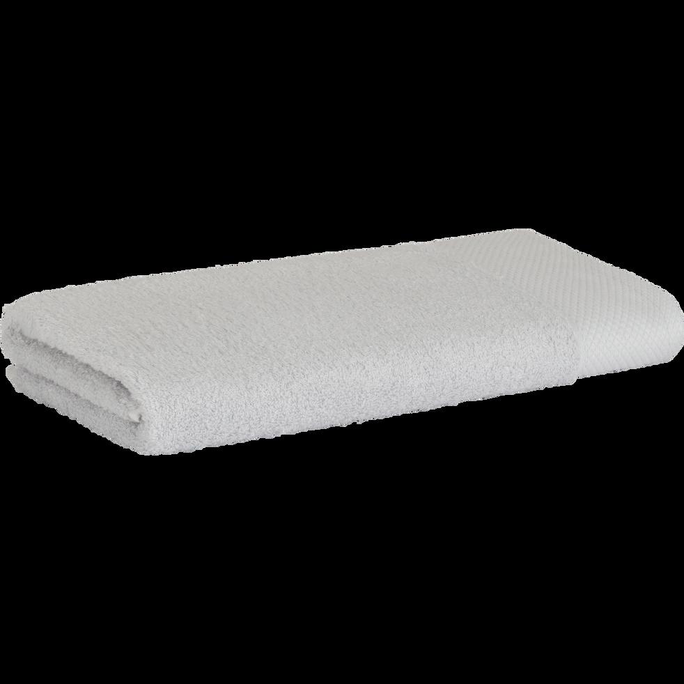 Serviette en coton 50x100cm gris borie-AZUR